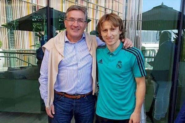 تبریک برانکو به مودریچ: افتخار می کنم که مربی ات بوده ام
