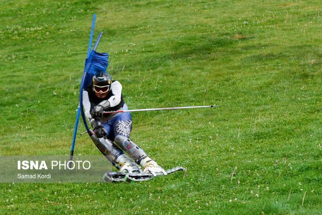 سومی سولقانی در مسابقات اسکی روی چمن کاپ اروپا