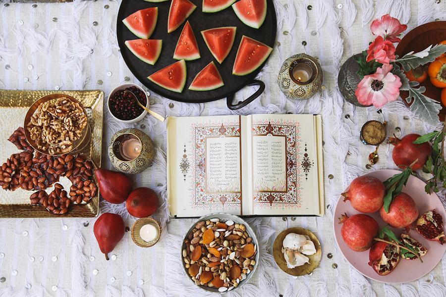 آداب و رسوم شب یلدا در مازندران؛ جشن چله شو با ماهی گرده بیج و مچ اندازی