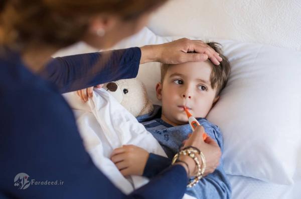 درمان تب کودک؛ برای تب بچه چی خوبه؟